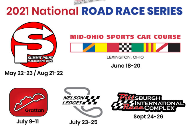 AKRA 2021 Road Race Series Schedule